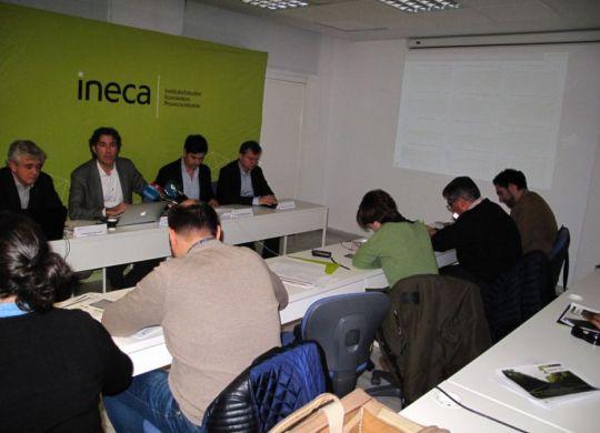 Presentación resultados Informe Coyuntura Socioeconómica de Ineca tercer trimestre 2018