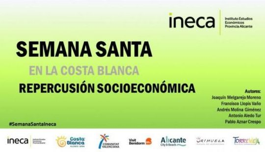 Estudio de impacto Socioeconómico de la Semana Santa en la provincia de Alicante