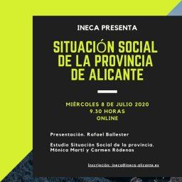 Presentación del estudio: Situación social de la provincia de Alicante
