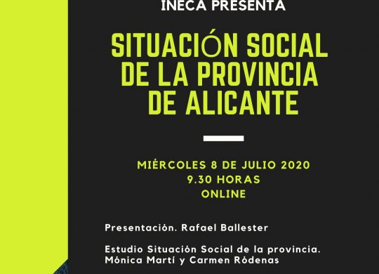 Invitación Jornada Situación Social de la provincia de Alicante