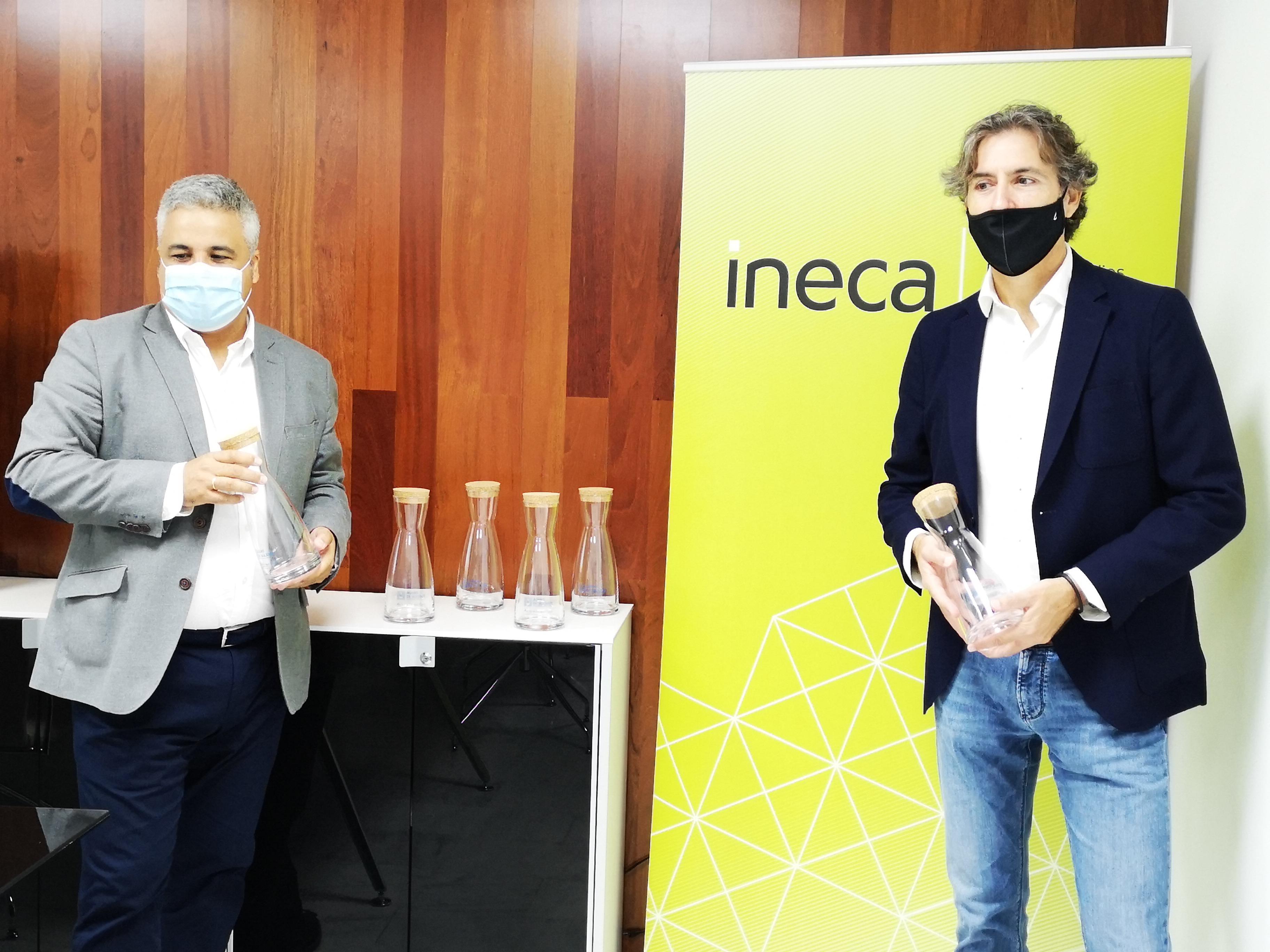 INECA y Aguas de Alicante colaboran para reducir residuos plásticos