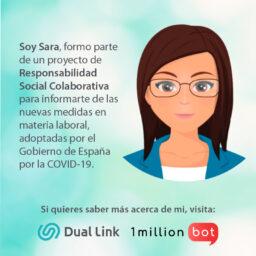 INECA se suma al proyecto de RSC de 1millionbot y DualLink con el chatbot Sara
